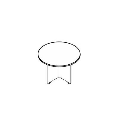 Tavolo riunione rotondo